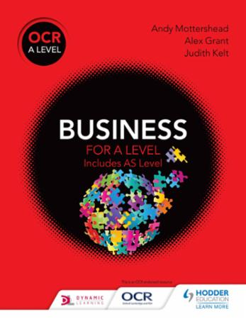 Bilde av Ocr Business For A Level