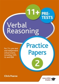 11+ Verbal Reasoning Practice Papers 2