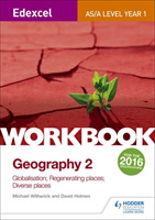 Edexcel AS/A-level Geography Workbook 2: