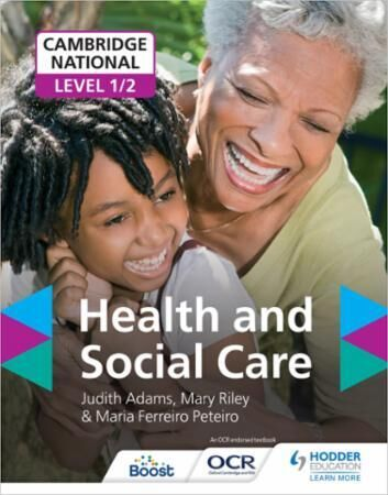 Cambridge national level 1/2 health and
