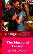 Husband Lesson (Mills & Boon Vintage Sup