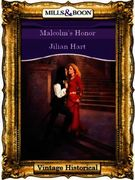 Malcolm's Honor (Mills & Boon Historical