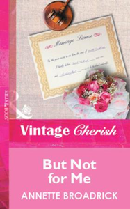 But Not for Me (Mills & Boon Vintage Che