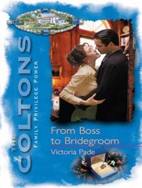 From Boss to Bridegroom (Mills & Boon M&