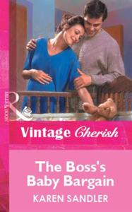Boss's Baby Bargain (Mills & Boon Vintag