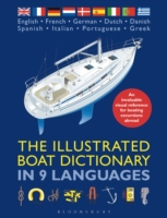 Illustrated Boat Dictionary in 9 Languag