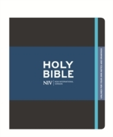 NIV Black Journalling Bible with Unlined