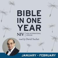 NIV Audio Bible in One Year (Jan-Feb): read by David Suchet