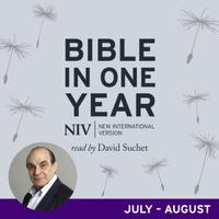 NIV Audio Bible in One Year (Jul-Aug): read by David Suchet