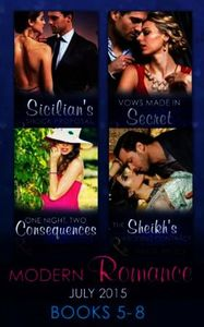 Modern Romance July 2015 Books 5-8: Sici