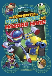 The Robo-battle of Mega Tortoise vs Haza