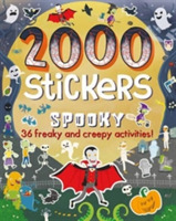 2000 Stickers Spooky