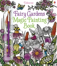 Fairy Gardens Magic Painting Book