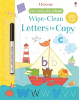 Get Ready for School Wipe-Clean Letters