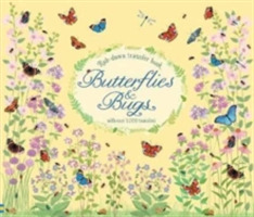 Rub-Down Transfer Book Butterflies and B