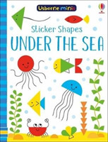 Sticker Shapes Under the Sea x5