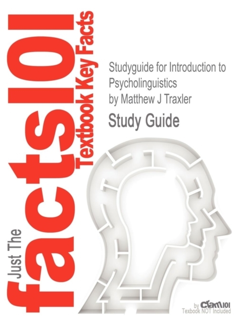 Studyguide for Introduction to Psycholin