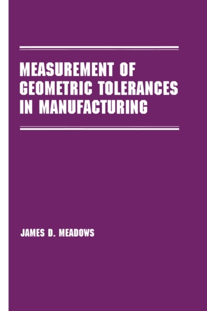 Measurement of Geometric Tolerances in M