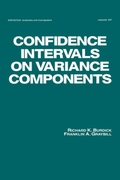 Confidence Intervals on Variance Compone