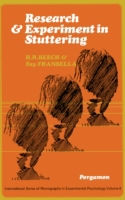 Research and Experiment in Stuttering