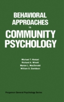 Behavioral Approaches to Community Psych