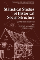Statistical Studies of Historical Social