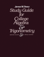 Study Guide for College Algebra and Trig
