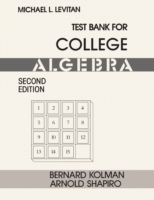Test Bank for College Algebra