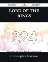 Lord Of The Rings 224 Success Secrets -