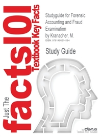 Studyguide for Forensic Accounting and F