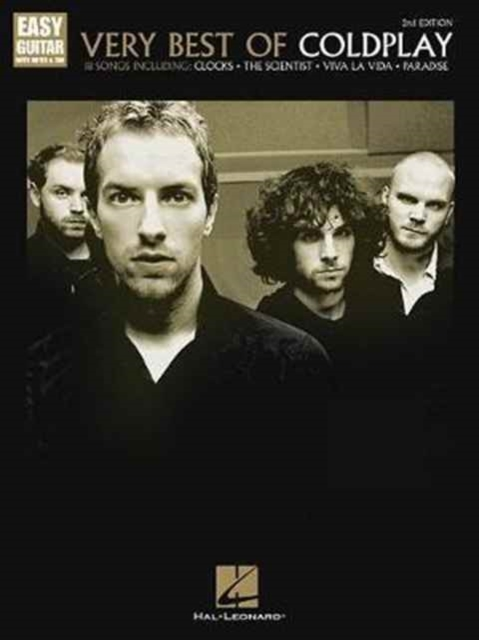 Very Best Of Coldplay 2nd Edition Easy G