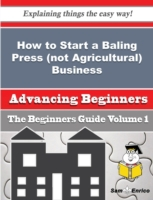 How to Start a Baling Press (not Agricul