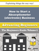 How to Start a Absorptiometer (electroni