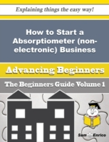 How to Start a Absorptiometer (non-elect