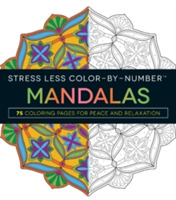 Stress Less Color-By-Number Mandalas