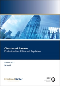 Chartered Banker Professional Ethics and