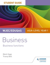 WJEC/Eduqas AS/A-level Year 1 Business S