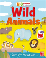 Big Stickers for Tiny Hands: Wild Animal