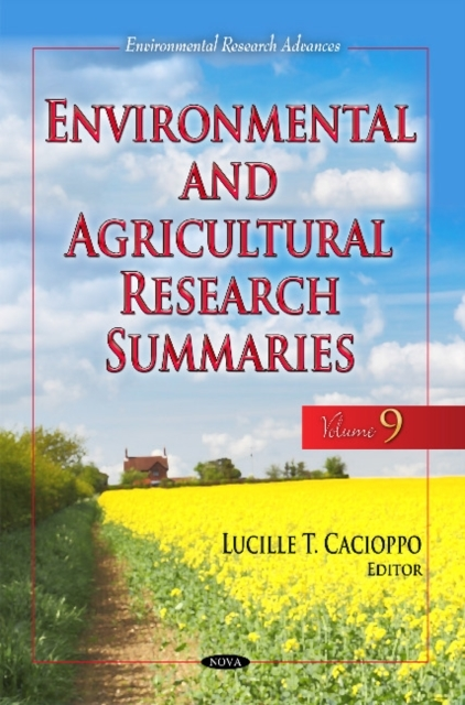 Environmental & Agricultural Research Su