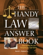 Handy Law Answer Book