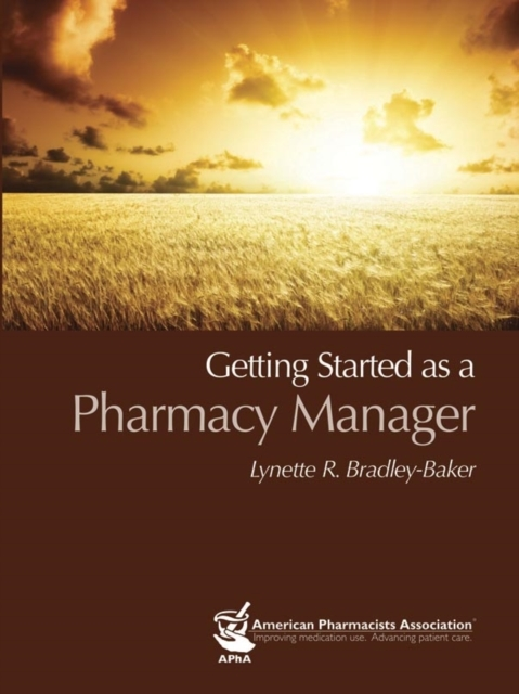 Getting Started as a Pharmacy Manager