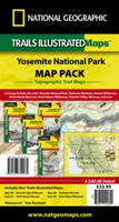 Yosemite National Park, Map Pack Bundle
