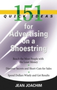 151 QUICK IDEAS FOR ADVERTISING ON A SHO