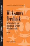 Feedback That Works: How to Build and De