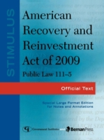 Stimulus: American Recovery and Reinvest
