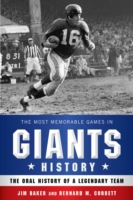 Most Memorable Games in Giants History