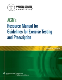 ACSM's Resource Manual for Guidelines fo