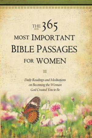 The 365 Most Important Bible Passages fo