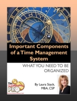 Important Components of a Time Managemen