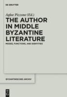 Author in Middle Byzantine Literature